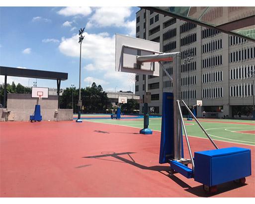 戶外可移動式籃球架 2