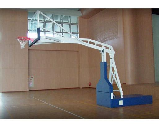 電動油壓式籃球架 1