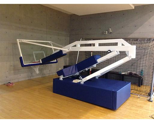 電動油壓式籃球架 2