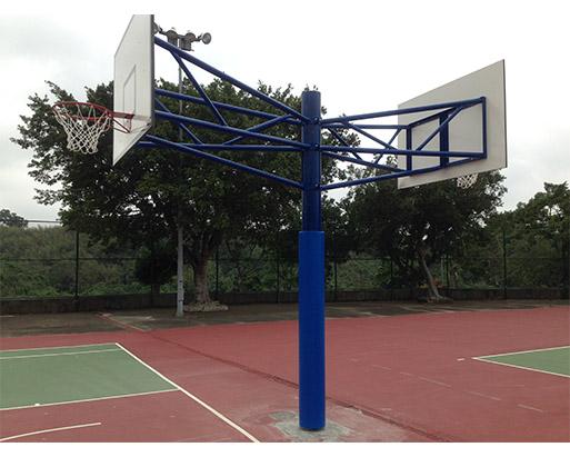 單柱式籃球架(雙面) 1